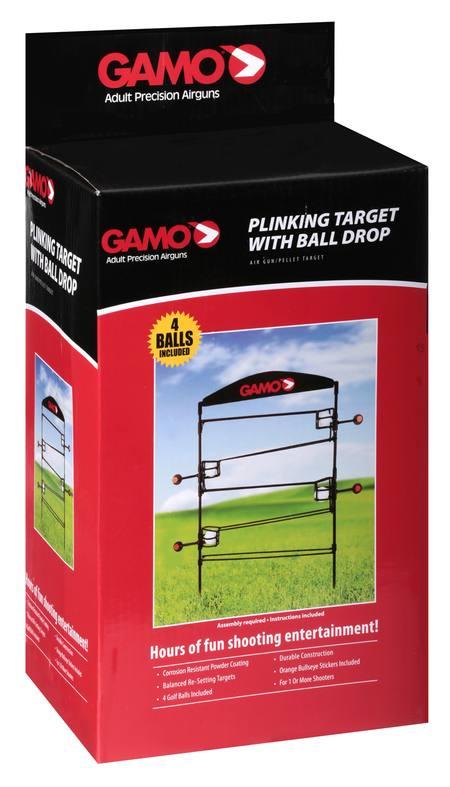 Gamo Air Rifle Plinking Target with Ball Drop