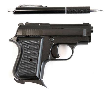 Bruni 8mm Beretta 950 Blank Pistol