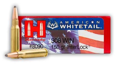 308 Hornady Whitetail 150gr Interlock
