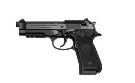 9mm Beretta 92A1 Tactical Blued Pistol