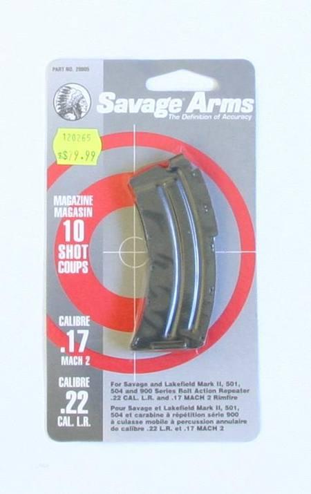 Savage MKII 10 Shot Magazine Blued