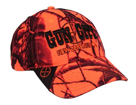 91ee546a5bf Gun City Blaze Orange Camo Baseball Cap NZ - Headwear by Gun City