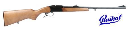 223 Baikal MP-18MH Single Shot Blued/Wood NZ - Single Shot