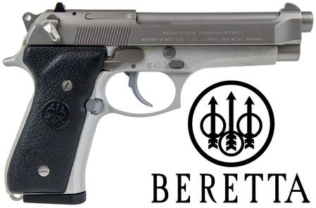 9mm Beretta 92FS Inox: Stainless/Synthetic