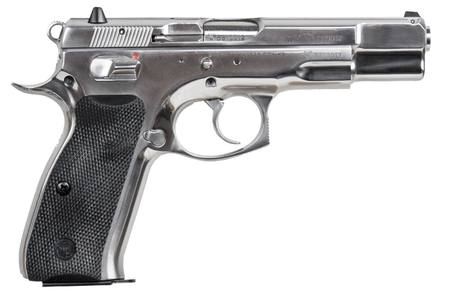 9mm CZ 75 B Stainles Glossy Finish