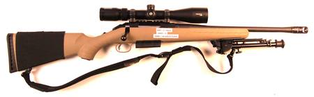 450BM Ruger American With Scope, Muzzle Brake & Bipod NZ