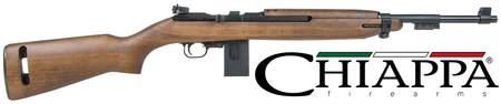 Buy .22 LR Chiappa M1-22: Blued/Wood - M1 Carbine Replica in NZ.