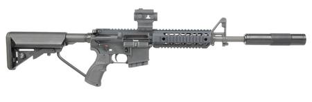 "Buy .223 Jericho AR15 14.5"" Quad Rail, Ranger Red Dot, Silencer in NZ."