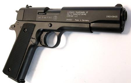 Umarex 9mm Colt Govt 1911 Blank Pistol *Front Vent* NZ