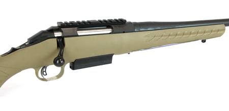 450 Bushmaster Ruger American Ranch Blued/Synthetic Flat