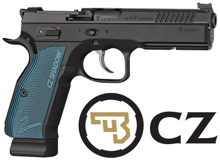 Buy 9mm CZ 75 SP-01 Shadow 2: Blue with Trijicon RMR Mount in NZ.