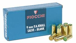 Buy 9mm Fiocchi P.A.KNall Slave Blanks in NZ New Zealand.