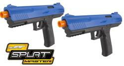 Buy JT Splatmaster Z100 Paintball Pistols: 2 Pack in NZ New Zealand.
