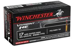 Buy 17 WSM Winchester Varmint 25gr High Energy in NZ New Zealand.