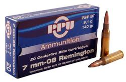 Buy 7mm-08 Prvi (PPU) Partizan 140gr SP in NZ New Zealand.