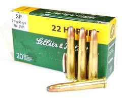 Buy 22 Hornet Seller & Bellot 45gr SP 20 Rounds in NZ New Zealand.