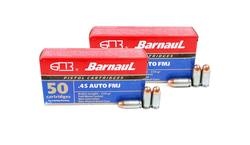Buy 45 Auto Barnaul 230gr FMJ x100 Rounds in NZ New Zealand.