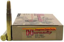 Buy 375 H&H Hornady 300gr DGX  in NZ New Zealand.