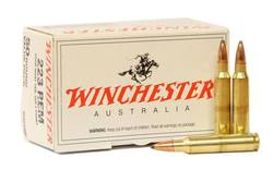 Buy Winchester .223 55gr BTSP Value Pack in NZ New Zealand.