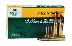 Buy 7.62X54R Sellier & Bellot 180gr Soft Point in NZ New Zealand.