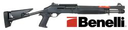 "Buy 12ga Benelli M4 Tactical Super 90 with Ghost Ring Sights and Telescopic Buttstock: 14"" in NZ New Zealand."