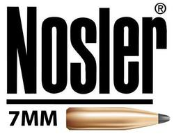 Nosler Projectiles 7mm Cal 50x *Choose Weight & Type*