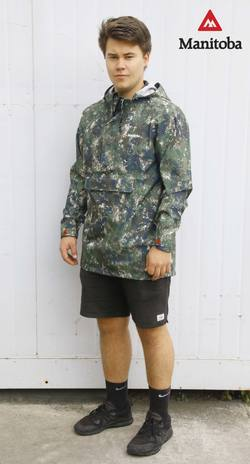 Buy Manitoba Compact Storm Jacket: Camo in NZ New Zealand.