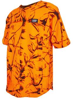 Buy Stoney Creek, Bushman Tee - Blaze Orange *Choose Size* in NZ New Zealand.