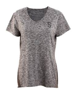 Lonely Track Women's Ruahine Tee: Granite