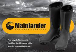 Buy Mainlander Neoprene Gumboots in NZ New Zealand.