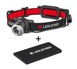 Buy LED Lenser H8R Rechargeable 600 Lumens Headlamp & Power Bank Combo in NZ New Zealand.