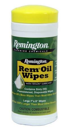 Buy Remington Rem Oil Wipes 60 Count Container in NZ New Zealand.