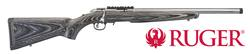 "Buy .22 WMR Ruger American Target Stainless with Laminate Stock & Threaded 18"" Barrel in NZ New Zealand."