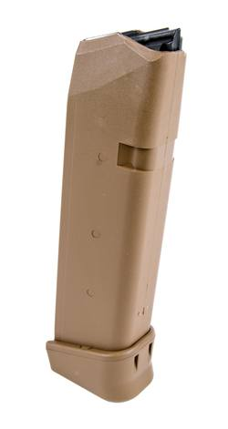 Buy 9mm Glock 19X Magazine: Coyote - Hold 17+2 Rounds in NZ New Zealand.