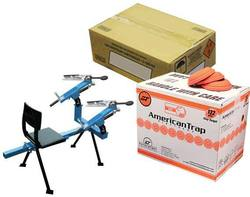 Buy Outdoor Outfitters Clay Thrower 3/4 Twin with targets & 250rnds Ammo in NZ New Zealand.