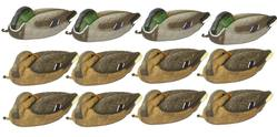 "Buy Outdoor Outfitters 16"" Mallard Sleeping Decoy Family Pack 4 Male 8 Female  in NZ New Zealand."