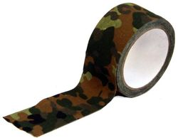 Buy Outdoor Outfitters Camo Tape Flecktarn Camo 5cm X 10m in NZ New Zealand.