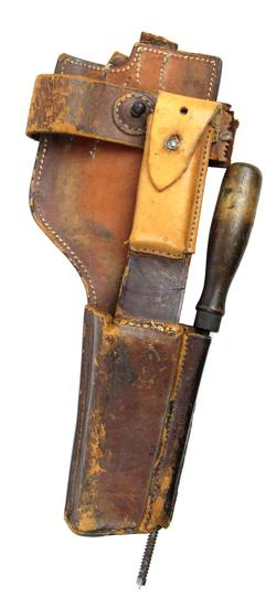 Buy Mauser C96 Leather Holster for Buttstock in NZ New Zealand.