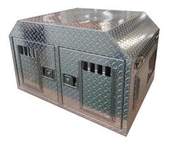 Buy Dual Aluminium Dog Box: For Small / Medium Sized Dogs in NZ New Zealand.