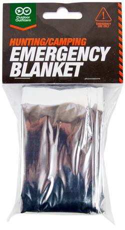 Buy Outdoor Outfitters Hunting / Camping Emergency Blanket in NZ New Zealand.
