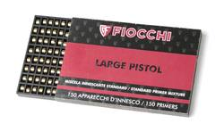 Buy Fiocchi Large Pistol Primers: 150 Pack in NZ New Zealand.