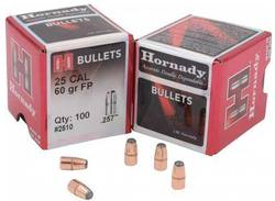 Buy .25 Cal Hornady Projectiles: 60GR, Flat Point x100 in NZ New Zealand.