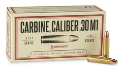 Buy .30 Carbine Hornady 110GR, FMJ: 50 Rounds in NZ New Zealand.