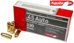 Buy .45 ACP Aguila 230gr FMJ in NZ New Zealand.
