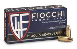 Buy 9mm Fiocchi 147GR, JHP: 50 Rounds in NZ New Zealand.