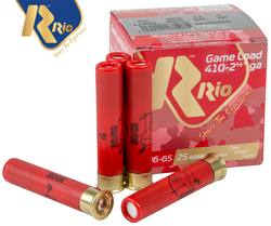 Buy Rio 410ga #4 11gr 65mm Game Load *25 Rounds in NZ New Zealand.