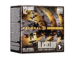 Buy 12ga Federal Black Cloud Steel BB 76MM 35GR 25 Rounds in NZ New Zealand.