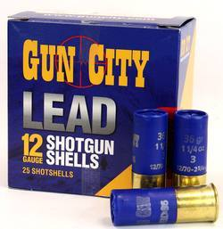 12ga Gun City 32gr Lead #5 70mm