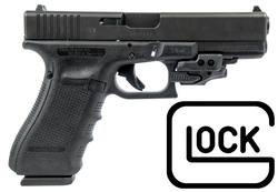 Buy 9mm Glock 17 Gen 4 with CTC Rail Master Laser Sight Package in NZ New Zealand.
