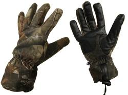 Buy BakTrac Gloves Windproof Camo Leather in NZ New Zealand.